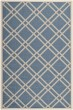 Product Image of Geometric Blue, Beige (243) Area Rug