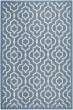 Product Image of Contemporary / Modern Blue, Beige (243) Area Rug