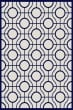 Product Image of Contemporary / Modern Beige, Navy (258) Area Rug