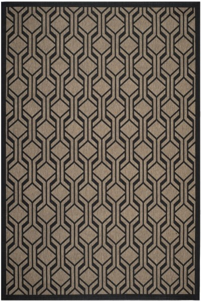 Brown, Black (81) Contemporary / Modern Area Rug