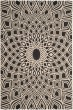 Product Image of Contemporary / Modern Black, Beige (25621) Area Rug