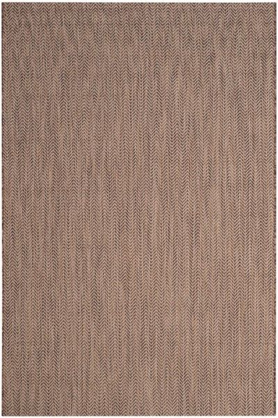 Brown, Beige (36321) Outdoor / Indoor Area Rug
