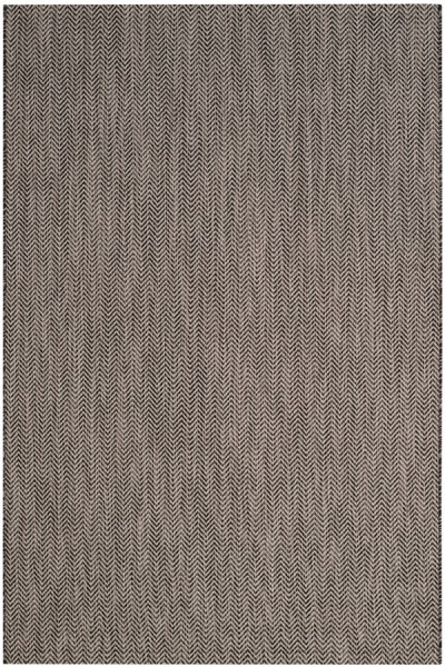 Black, Beige (36621) Outdoor / Indoor Area Rug