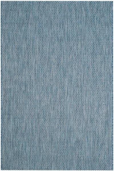 Navy, Grey (36821) Outdoor / Indoor Area Rug