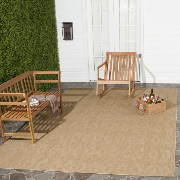 Natural (03011) Outdoor / Indoor Area Rug