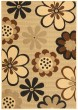 Product Image of Contemporary / Modern Natural, Brown, Black (D) Area Rug