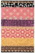 Product Image of Pink, Gold, Purple (K) Striped Area Rug