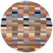 Product Image of Brown, Navy (A) Contemporary / Modern Area Rug