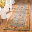Product Image of Blue, Orange (A) Traditional / Oriental Area Rug