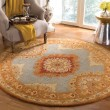 Product Image of Blue, Rust (A) Traditional / Oriental Area Rug