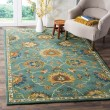 Product Image of Light Blue (A) Traditional / Oriental Area Rug