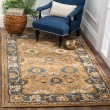 Product Image of Camel, Blue (A) Traditional / Oriental Area Rug