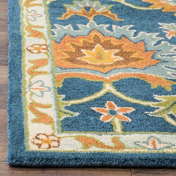 Navy (A) Traditional / Oriental Area Rug
