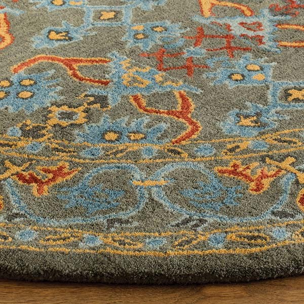 Sage, Blue (W) Traditional / Oriental Area Rug