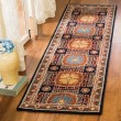 Product Image of Navy, Orange (N) Traditional / Oriental Area Rug
