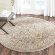 Product Image of Beige, Grey (A) Traditional / Oriental Area Rug