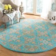 Product Image of Turquoise (A) Traditional / Oriental Area Rug