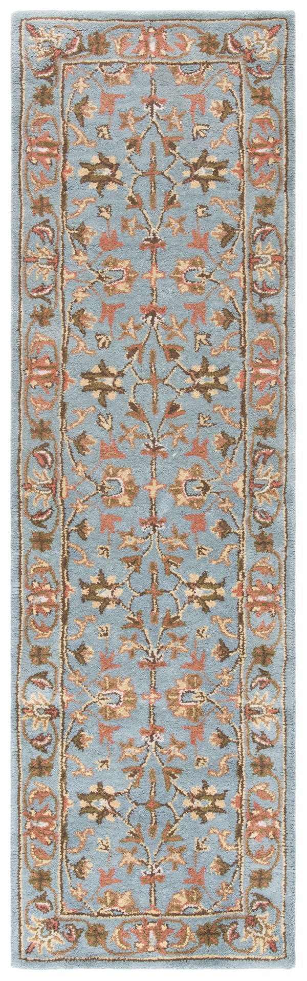 Blue, Blue (A) Traditional / Oriental Area Rug