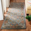Product Image of Blue, Blue (A) Traditional / Oriental Area Rug
