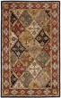 Product Image of Traditional / Oriental Green, Red (B) Area Rug