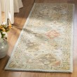 Product Image of Light Blue, Light Brown (C) Traditional / Oriental Area Rug
