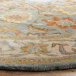 Product Image of Light Blue, Ivory (A) Traditional / Oriental Area Rug