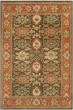 Product Image of Traditional / Oriental Chocolate, Tangerine (B) Area Rug