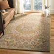 Product Image of Light Brown, Grey (A) Mandala Area Rug