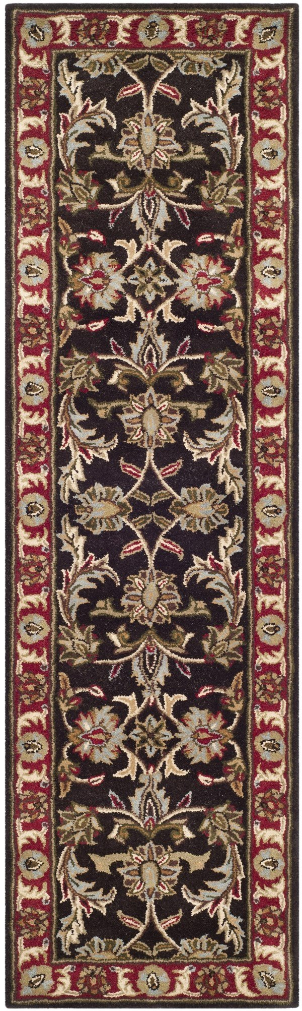 Chocolate, Red (A) Traditional / Oriental Area Rug