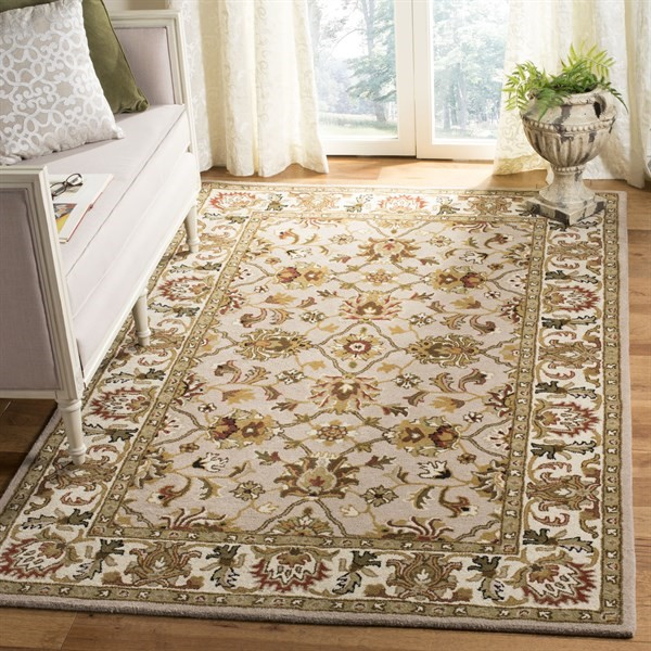 Ivory, Light Gold (A) Traditional / Oriental Area Rug
