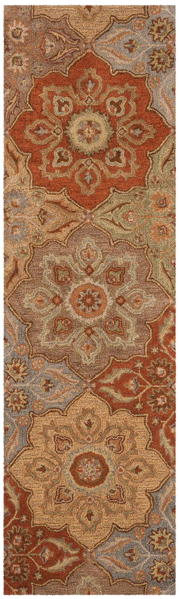 Brown (A) Moroccan Area Rug