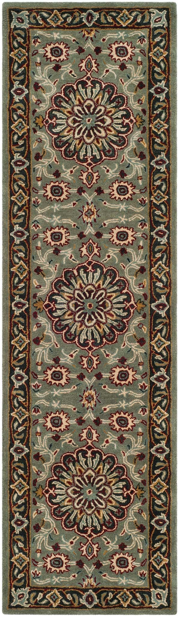 Grey, Charcoal (A) Traditional / Oriental Area Rug