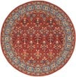 Product Image of Red, Blue (Q) Traditional / Oriental Area Rug