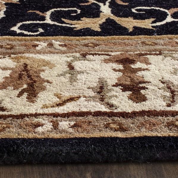 Blue, Beige (B) Traditional / Oriental Area Rug