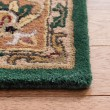 Product Image of Dark Green, Gold (A) Traditional / Oriental Area Rug