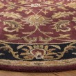 Product Image of Red, Black (C) Traditional / Oriental Area Rug