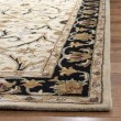 Product Image of Ivory, Black (C) Traditional / Oriental Area Rug