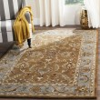 Product Image of Brown, Blue (A) Traditional / Oriental Area Rug