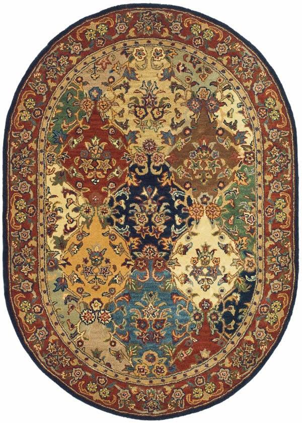Burgundy (A) Traditional / Oriental Area Rug
