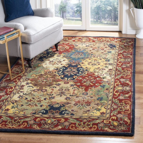 Burgundy (A) Traditional / Oriental Area Rug