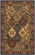Product Image of Traditional / Oriental Beige, Burgundy (B) Area Rug