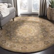Product Image of Green, Taupe (A) Traditional / Oriental Area Rug