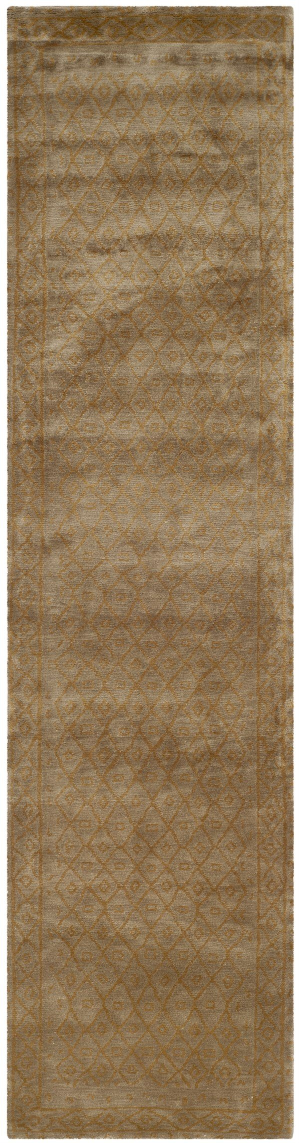 Sage, Gold (A)  Bordered Area Rug