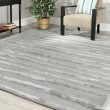 Product Image of Grey (A) Striped Area Rug