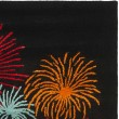 Product Image of Black (A) Contemporary / Modern Area Rug
