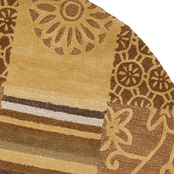 Beige (A) Transitional Area Rug