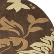 Product Image of Brown (B) Floral / Botanical Area Rug