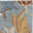 Product Image of Blue (A) Floral / Botanical Area Rug