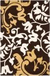 Product Image of Floral / Botanical Brown (A) Area Rug