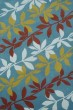 Product Image of Floral / Botanical Blue (A) Area Rug